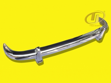 Mercedes Ponton W180 W128 219 220S-SE 1954-1960 stainless steel bumpers front and rear polished
