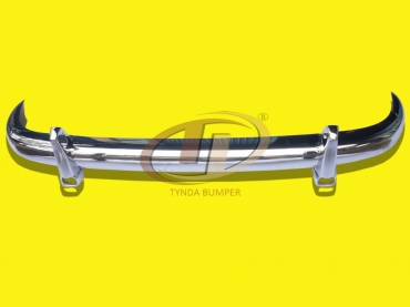 Mercedes 220A Ponton W180 W128 1954-1960, coupe and convertible stainless steel bumpers front and rear polished