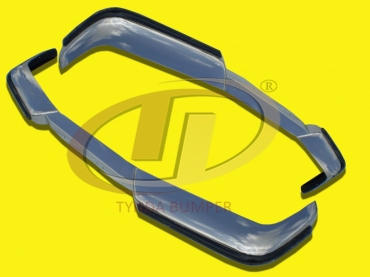 Volvo P1800 coupe and station (1963-1973) bumper stainless steel polished
