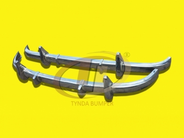 Mercedes W136 W191 170 models (1946-1955) stainless steel polished bumpers