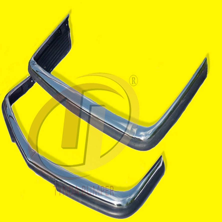 Mercedes SL SLC W107 R107 EU style stainless steel polished bumper 1971-1989