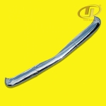 Volkswagen Karmann Ghia Europe BLADE style type 14 stainless steel bumper polished 1955-1971.