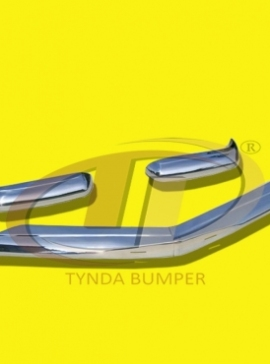 Mercedes Pagode W113 models 230SL 250SL 280SL (1963 -1971) bumpers stainless steel polished